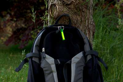 The key ring or supplied clips make Ni-Glo suitable for attaching to tents, tent entrance zips, mallets, kits, sleeping bags, rucksacks/backpacks, corner pegs, torches,  you name it and it will glow.